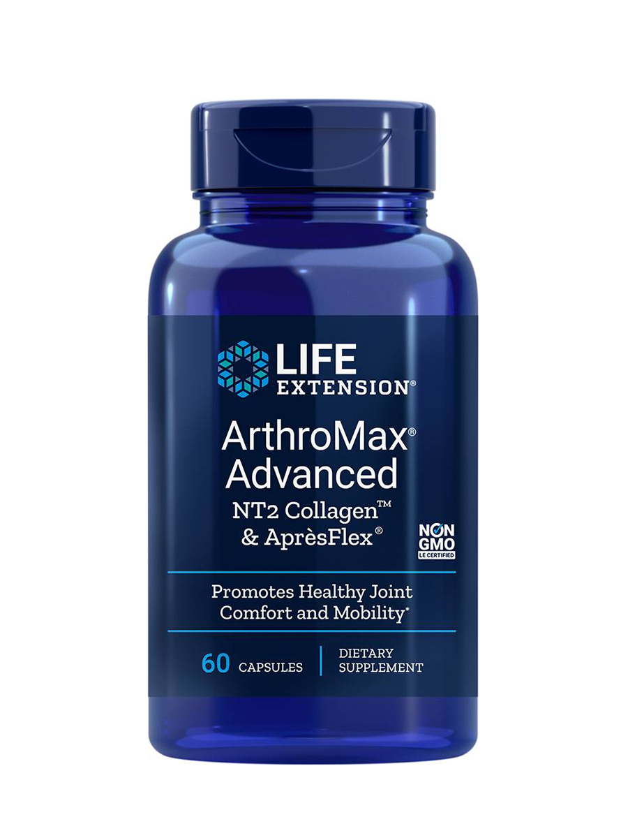 ArthroMax Advanced with UC-II & ApresFlex - 60 Capsules