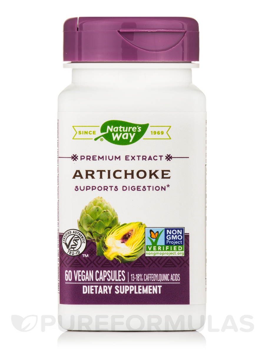Artichoke Standardized - 60 Capsules