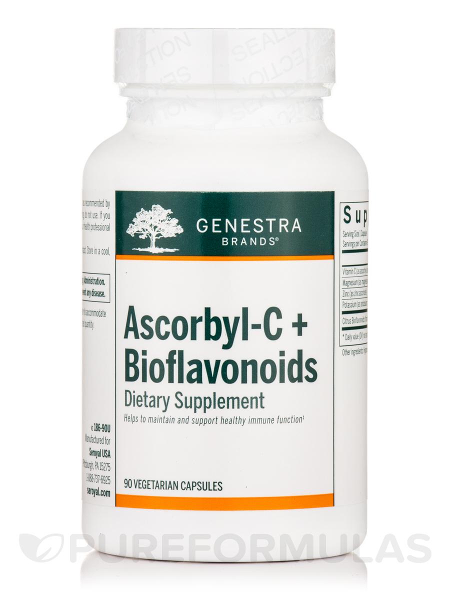 Ascorbyl-C + Bioflavonoids - 90 Vegetarian Capsules