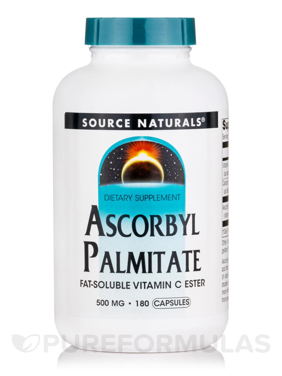 Ascorbyl Palmitate - 180 Capsules