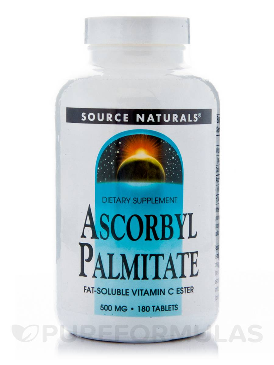 Ascorbyl Palmitate - 180 Tablets