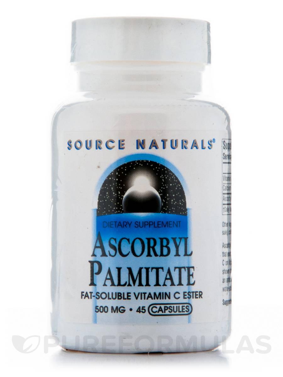 Ascorbyl Palmitate - 45 Capsules