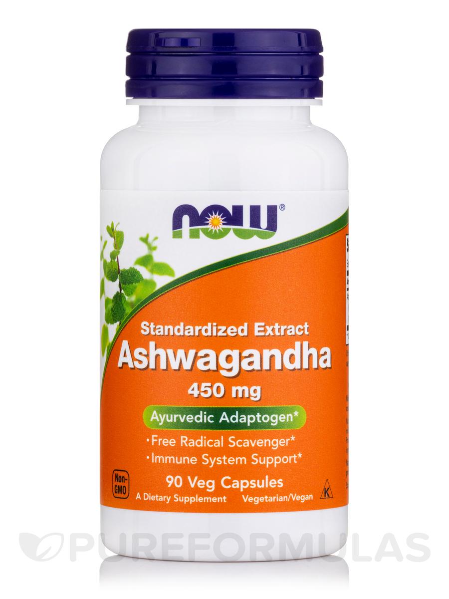 Ashwagandha 450 mg - 90 Vegetarian Capsules