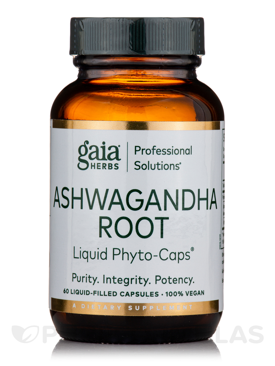 Ashwagandha - 60 Liquid-Filled Capsules