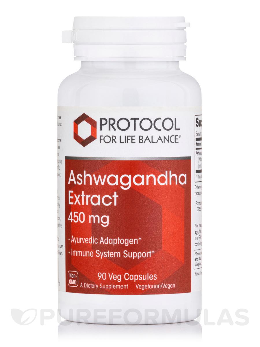 Ashwagandha Extract 450 mg - 90 Veg Capsules