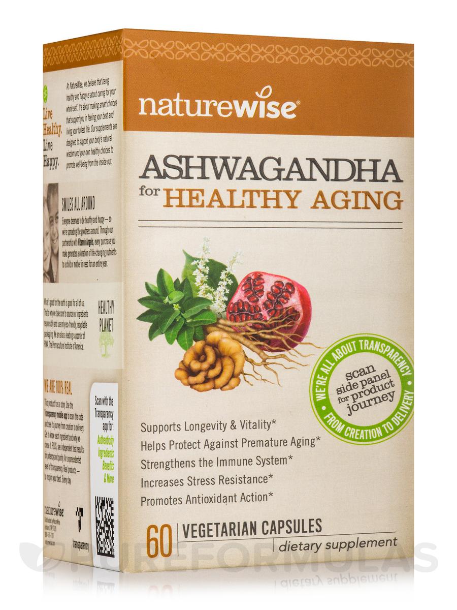 Ashwagandha for Healthy Aging - 60 Vegetarian Capsules