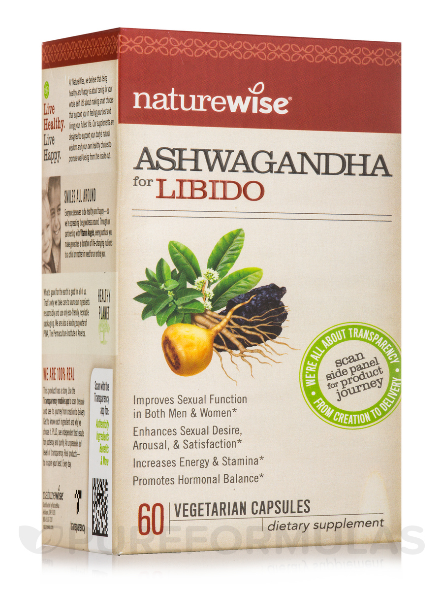 Ashwagandha for Libido - 60 Vegetarian Capsules