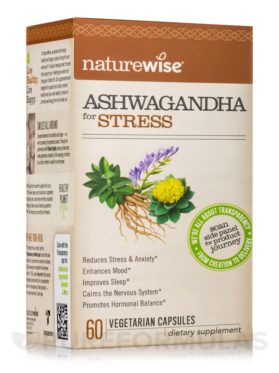 Ashwagandha for Stress - 60 Vegetarian Capsules