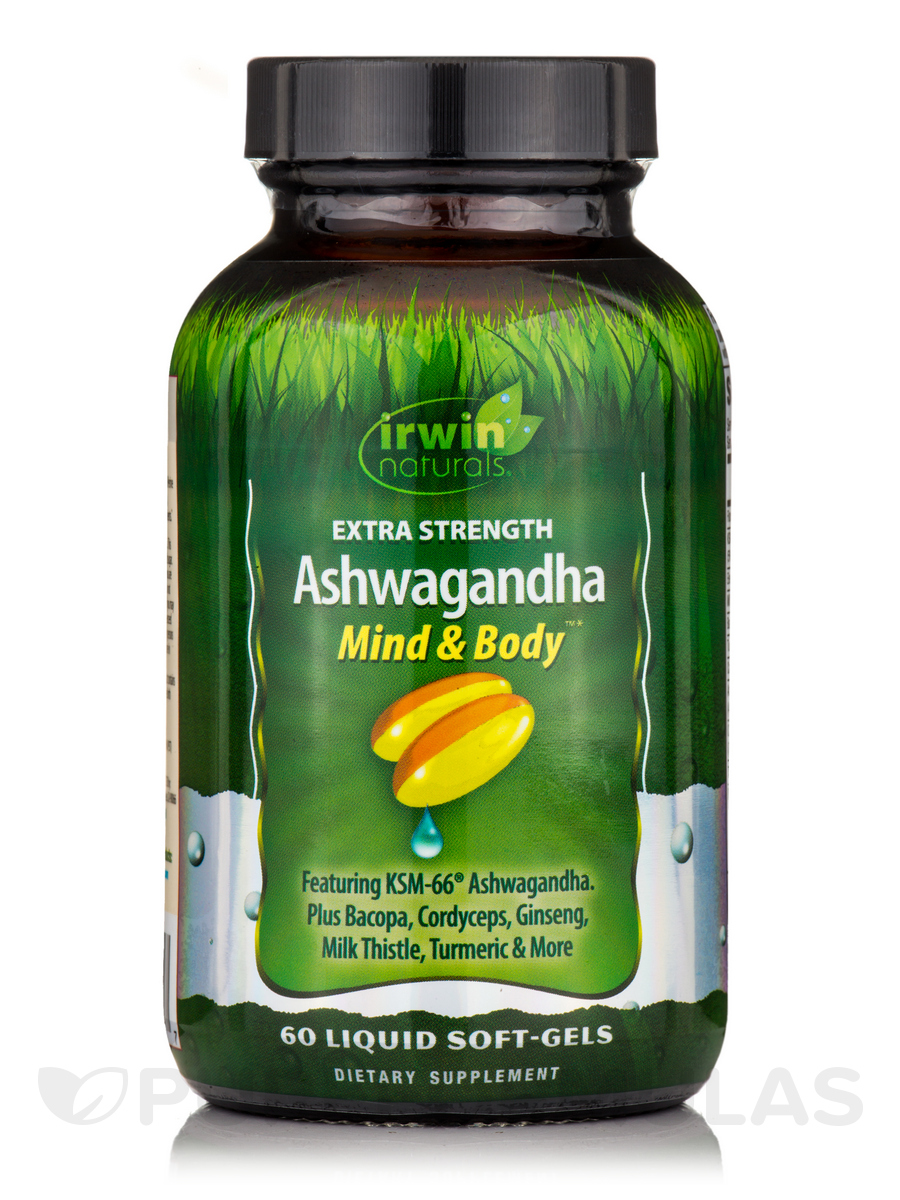 Ashwagandha Mind & Body™ Extra Strength - 60 Liquid Soft-Gels