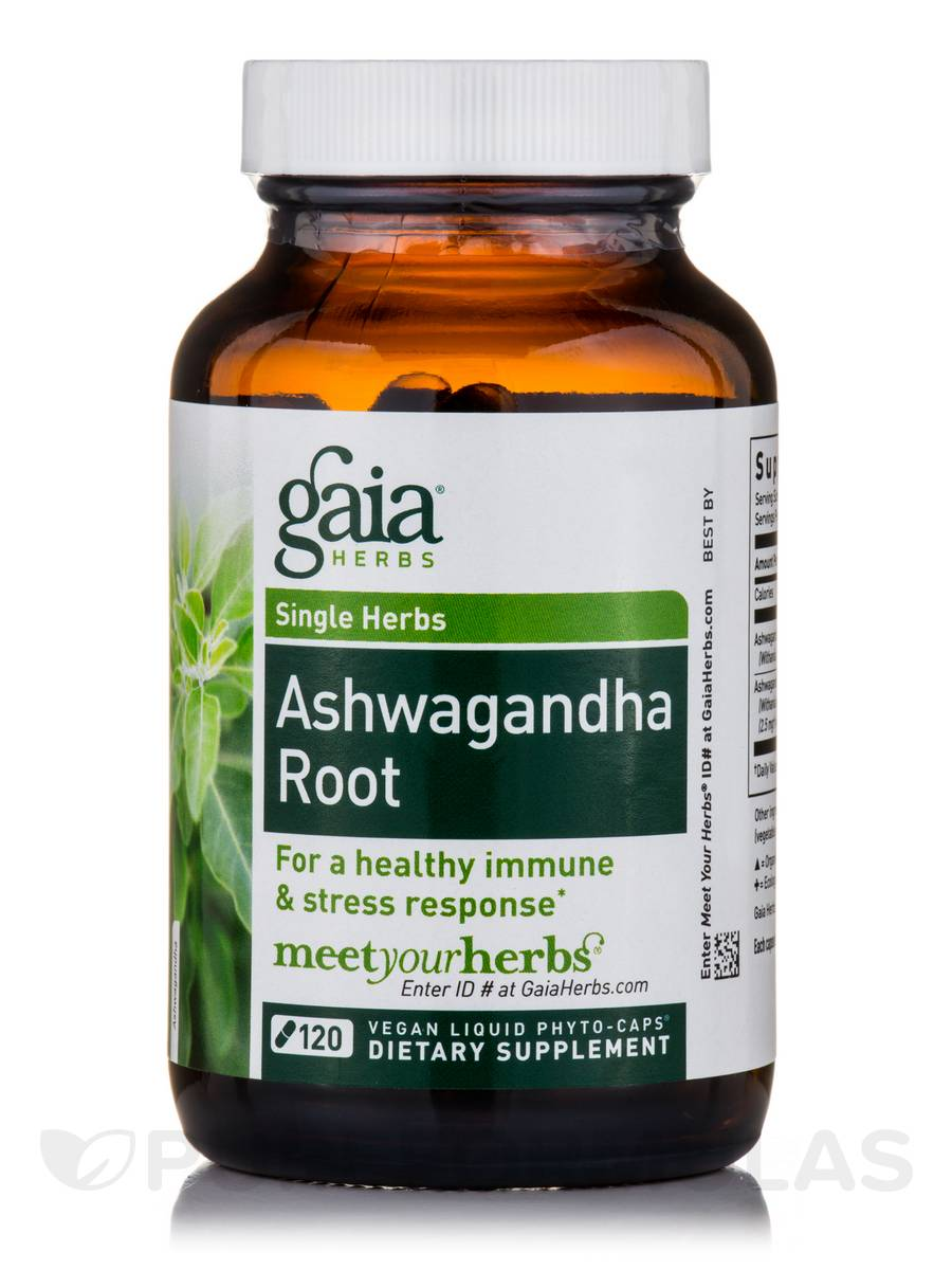 Ashwagandha Root - 120 Vegan Liquid Phyto-Caps®