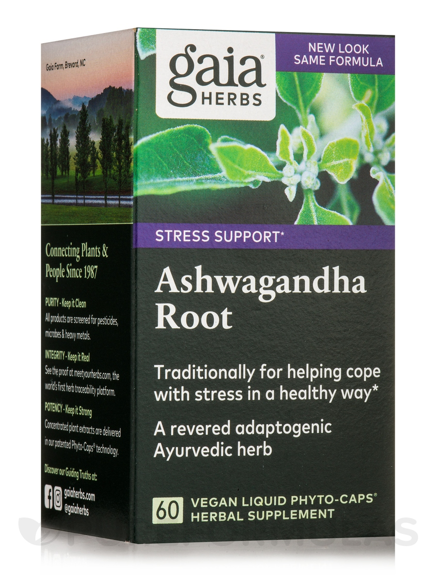 Ashwagandha Root - 60 Vegan Liquid Phyto-Caps®