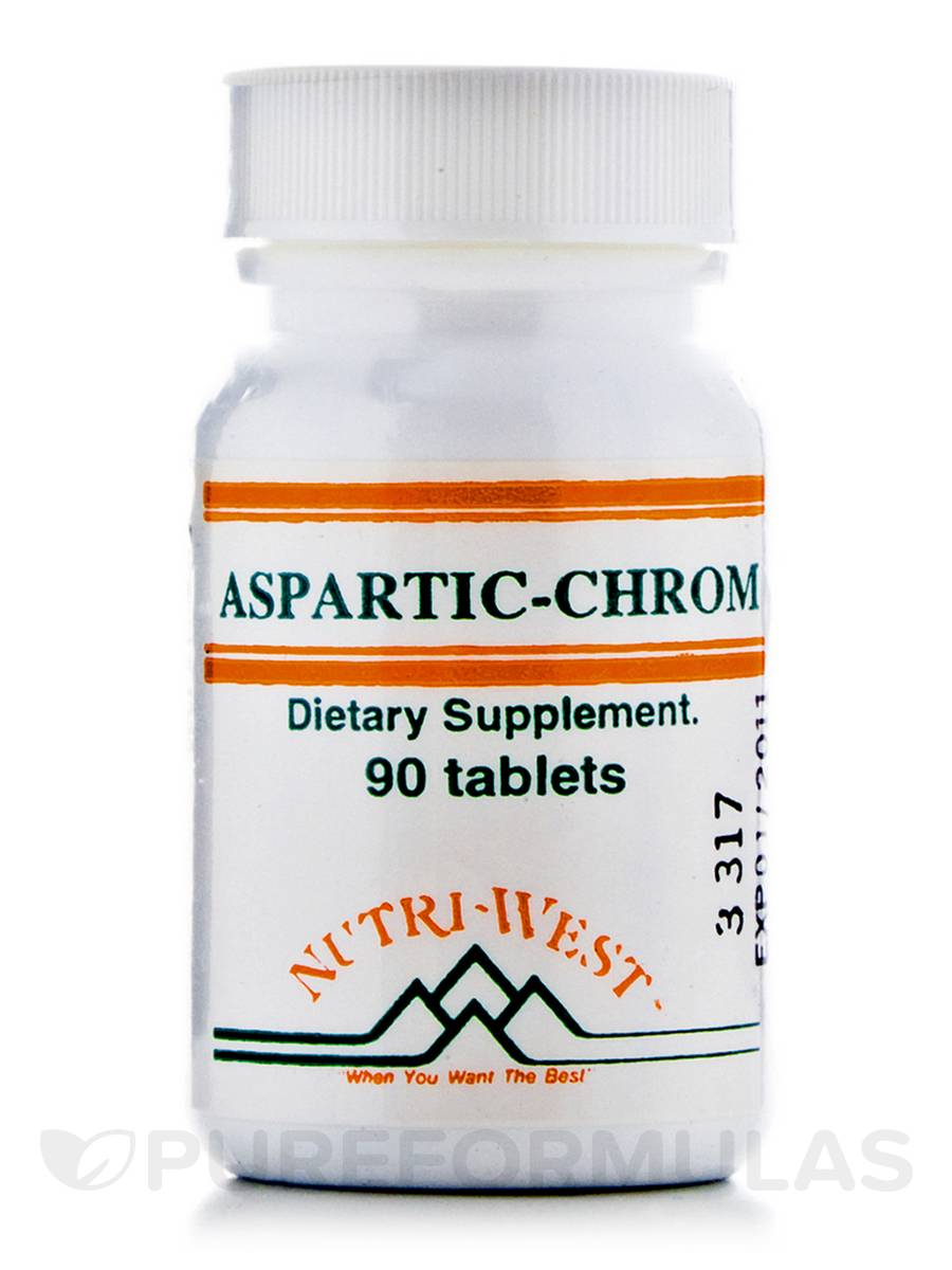 Aspartic-Chrom - 90 Tablets