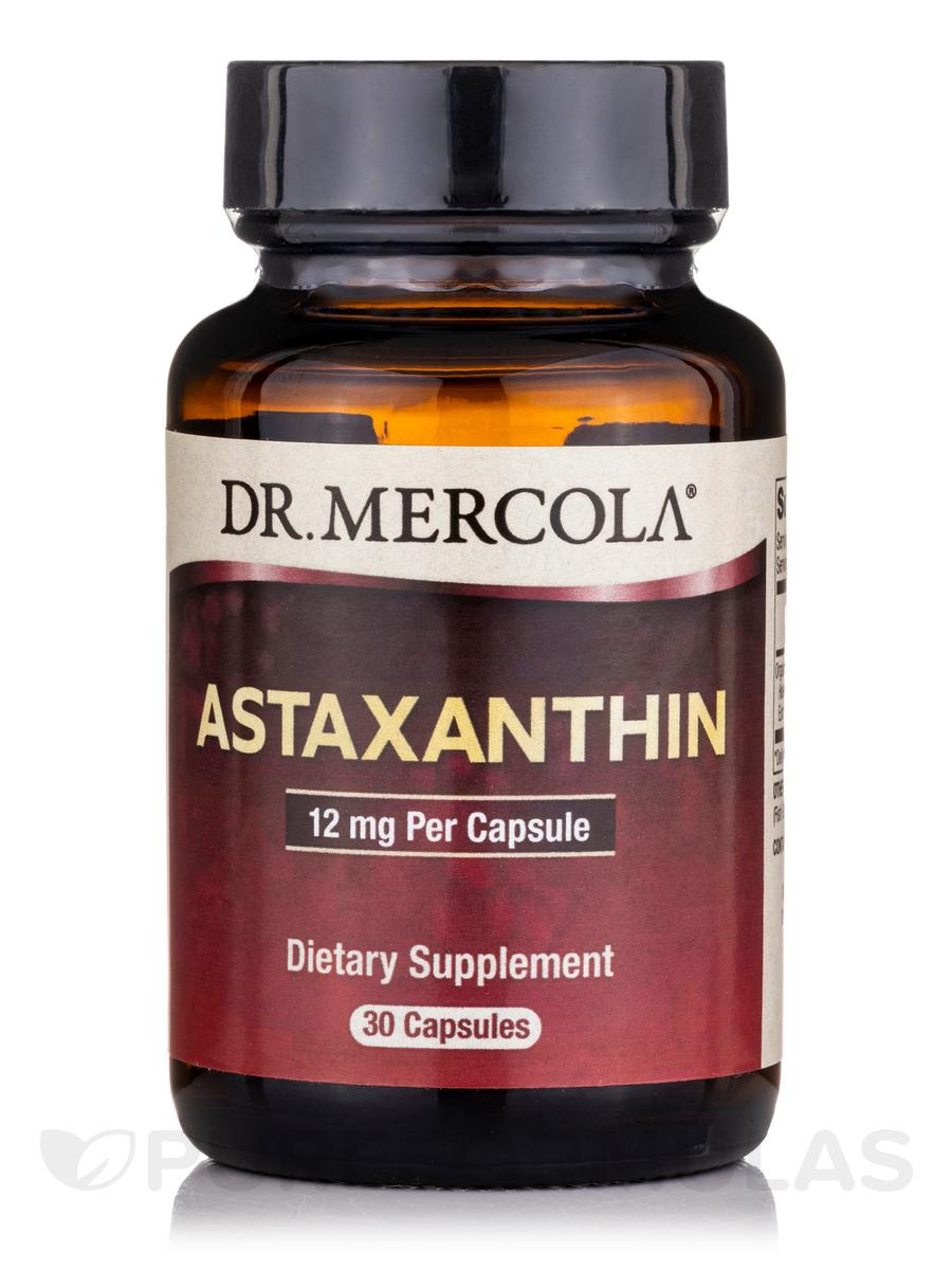 Astaxanthin 12 mg - 30 Capsules