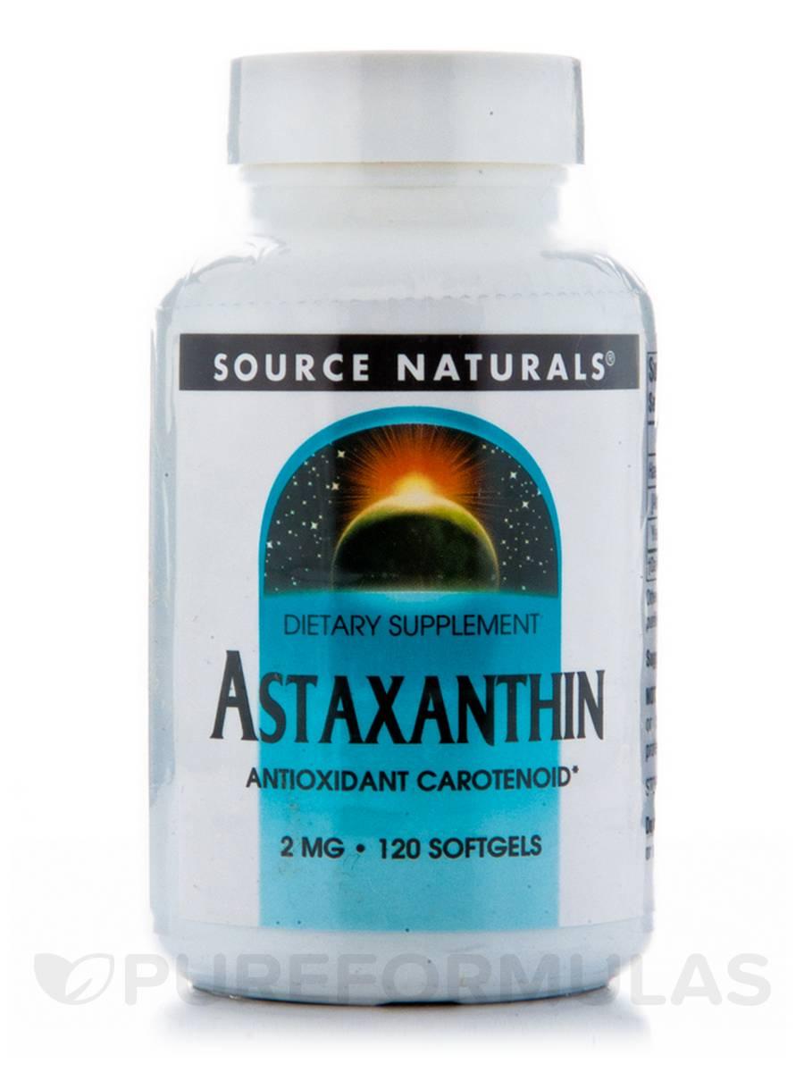 Astaxanthin 2 mg - 120 Softgels