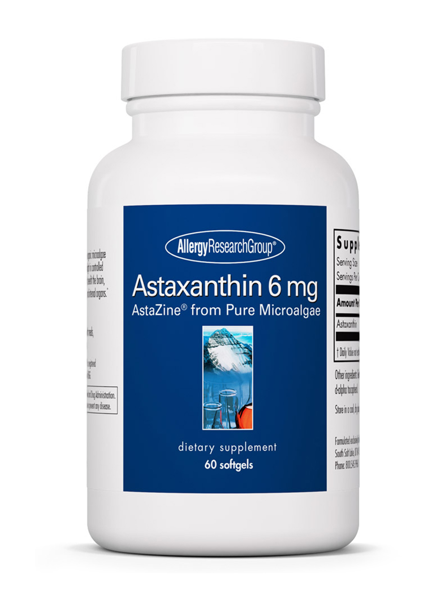 Astaxanthin 6 mg - 60 Softgels