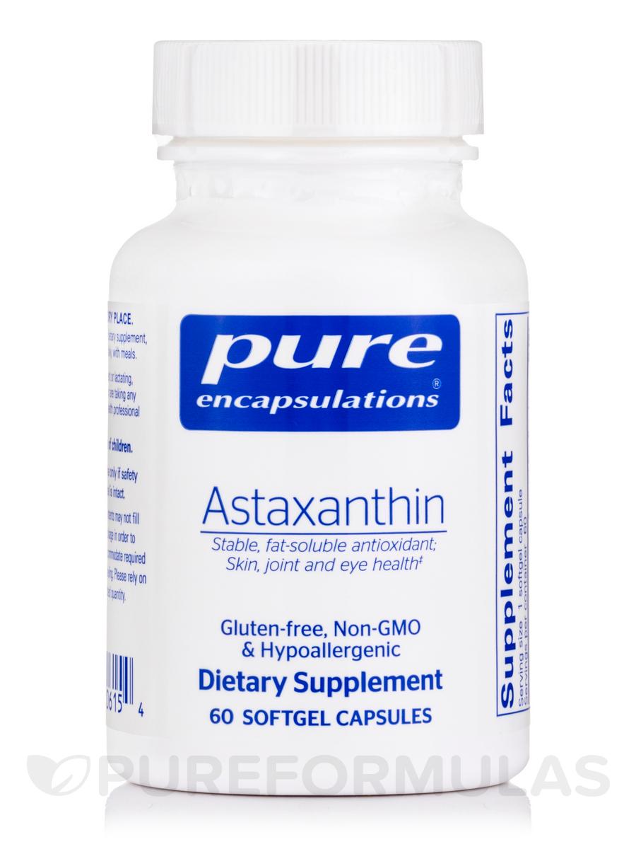 Astaxanthin - 60 Softgel Capsules