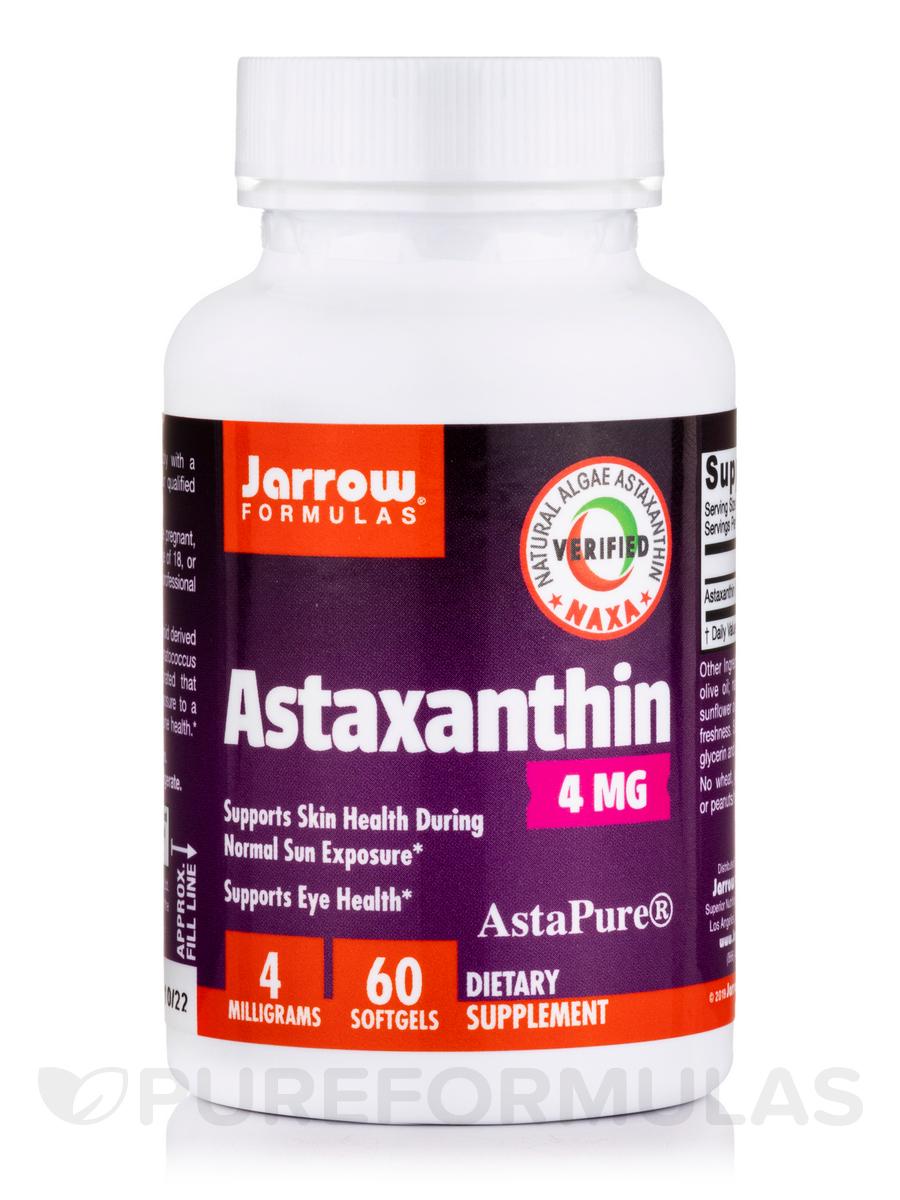 Astaxanthin 4 mg - 60 Softgels