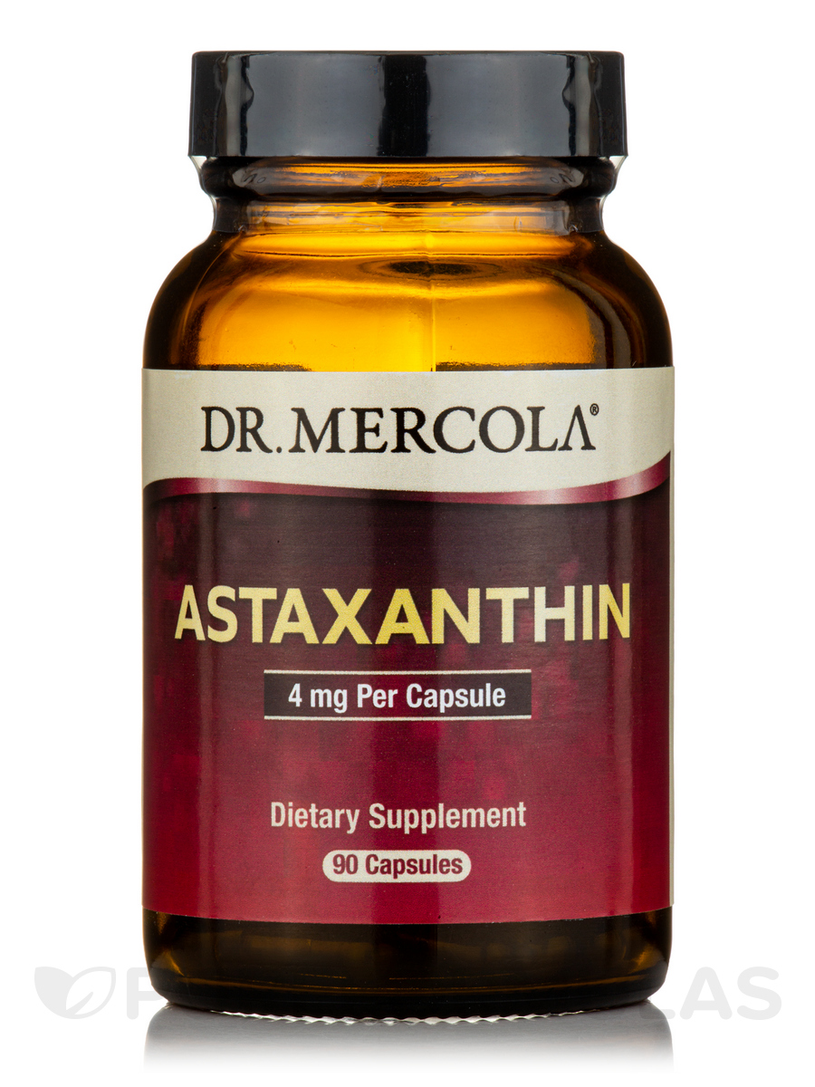 Astaxanthin with 300 mg Omega-3 ALA - 90 Capsules