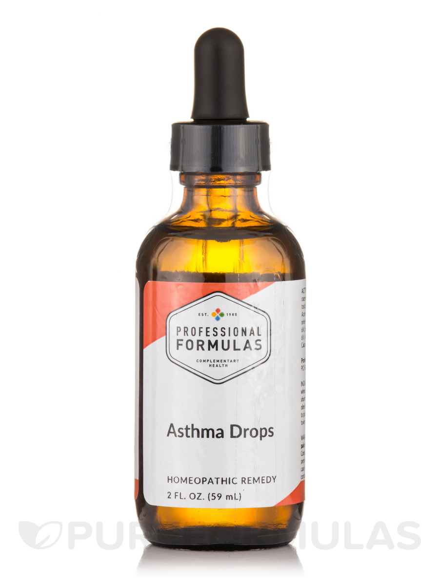 Asthma Drops - 2 fl. oz (59 ml)