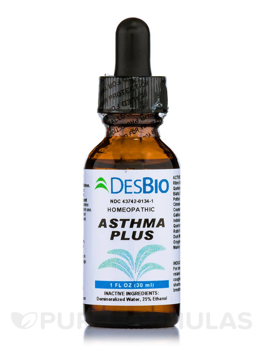 Asthma Plus - 1 fl. oz (30 ml)