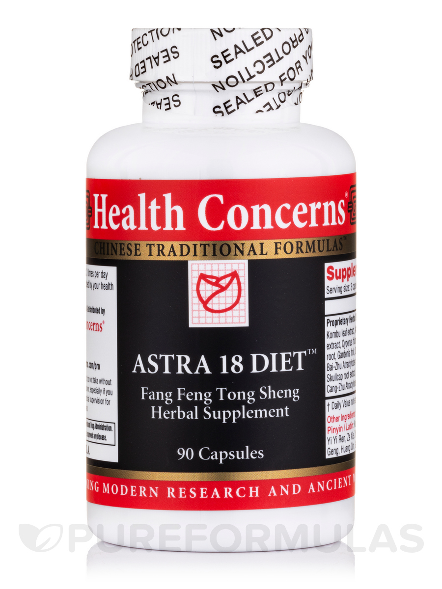Astra 18 Diet - 90 Tablets
