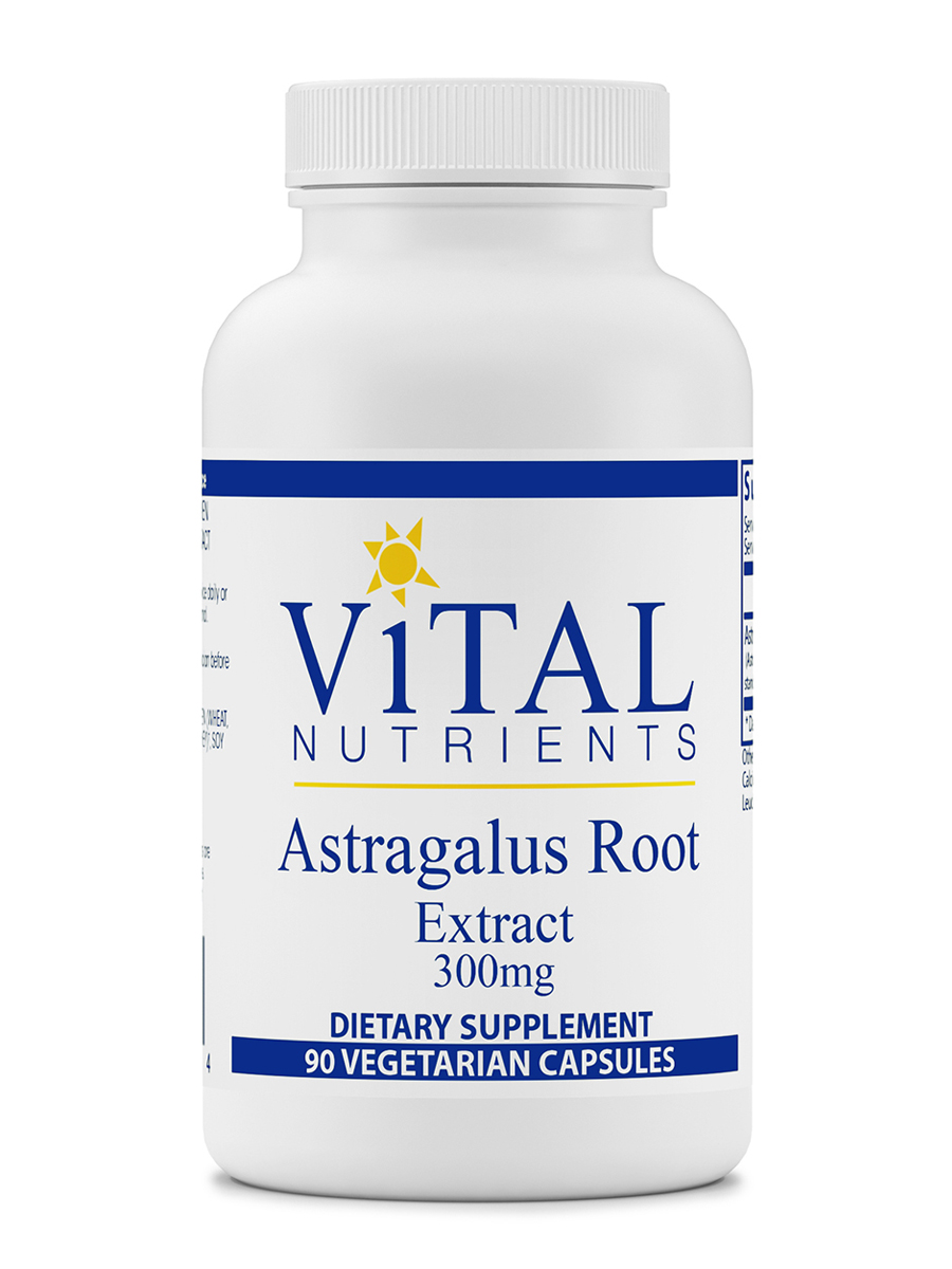 Astragalus Root Extract 300 mg - 90 Vegetarian Capsules