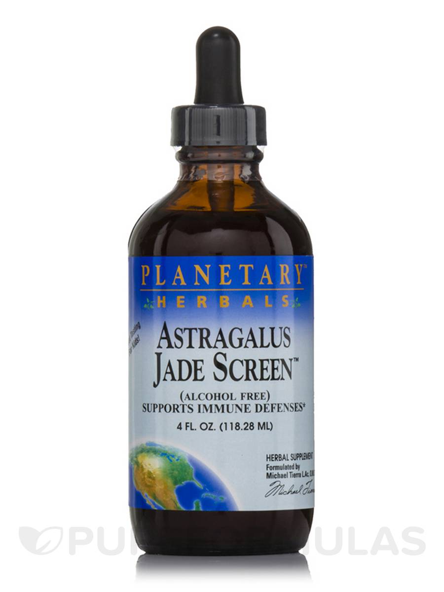 Astragalus Jade Screen Liquid (Alcohol Free) - 4 fl. oz (118.28 ml)
