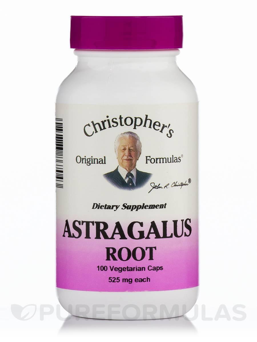 Astragalus Root - 100 Vegetarian Capsules