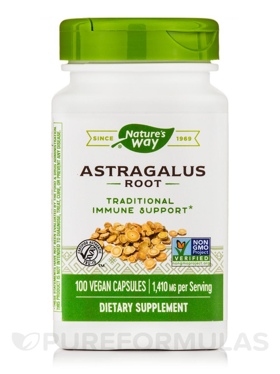 Astragalus Root 470 mg - 100 Capsules