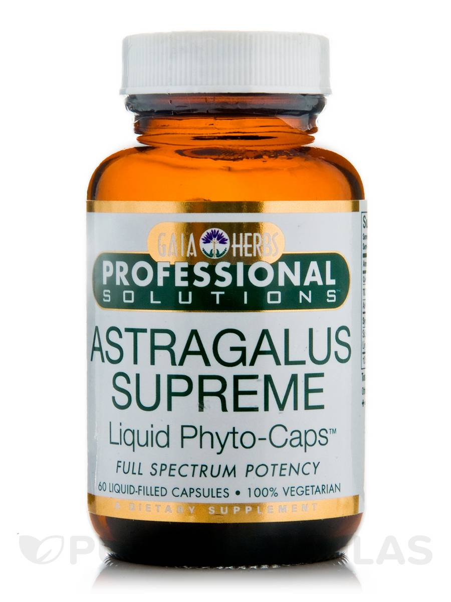Astragalus Supreme - 60 Vegetarian Liquid-Filled Capsules