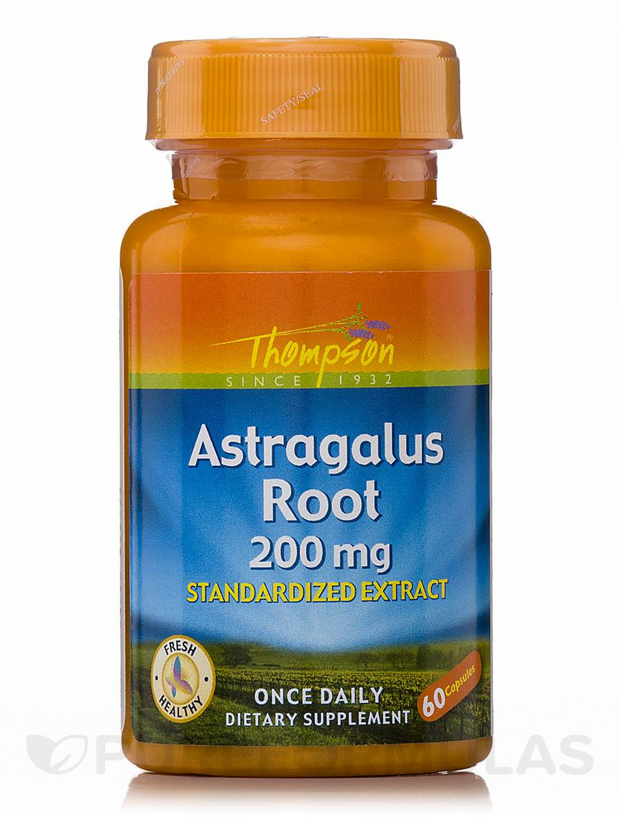 Astragalus Root 200 mg (Standardized Extract) - 60 Capsules