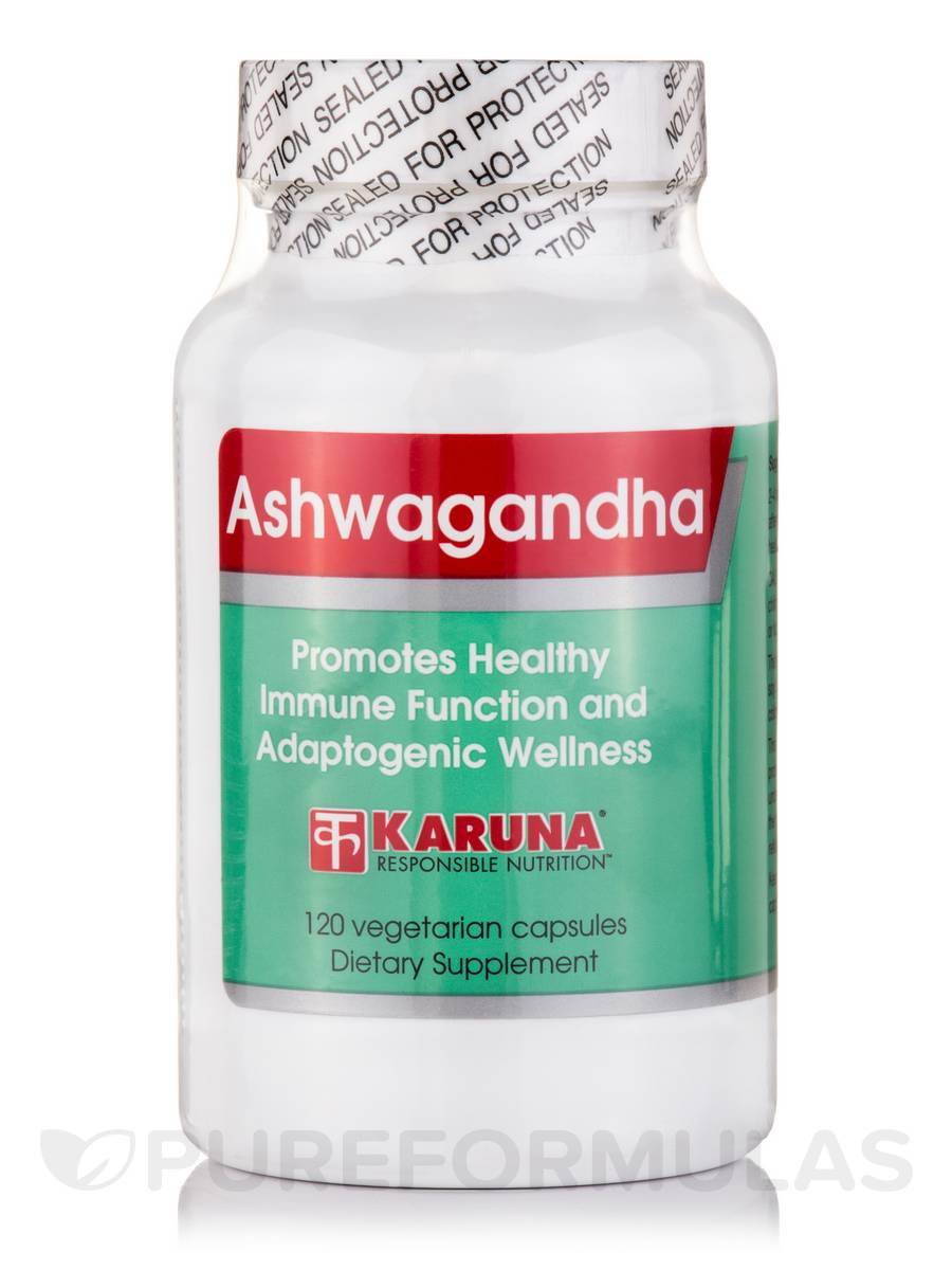 Ashwagandha - 120 Vegetarian Capsules