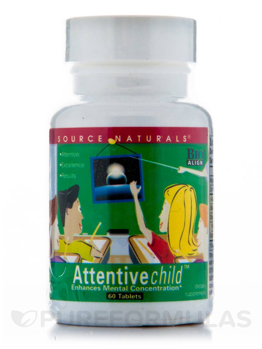 Attentive Child Tabs - 60 Tablets