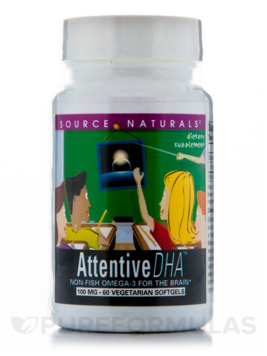 Attentive DHA Kid 100 mg - 60 Softgels