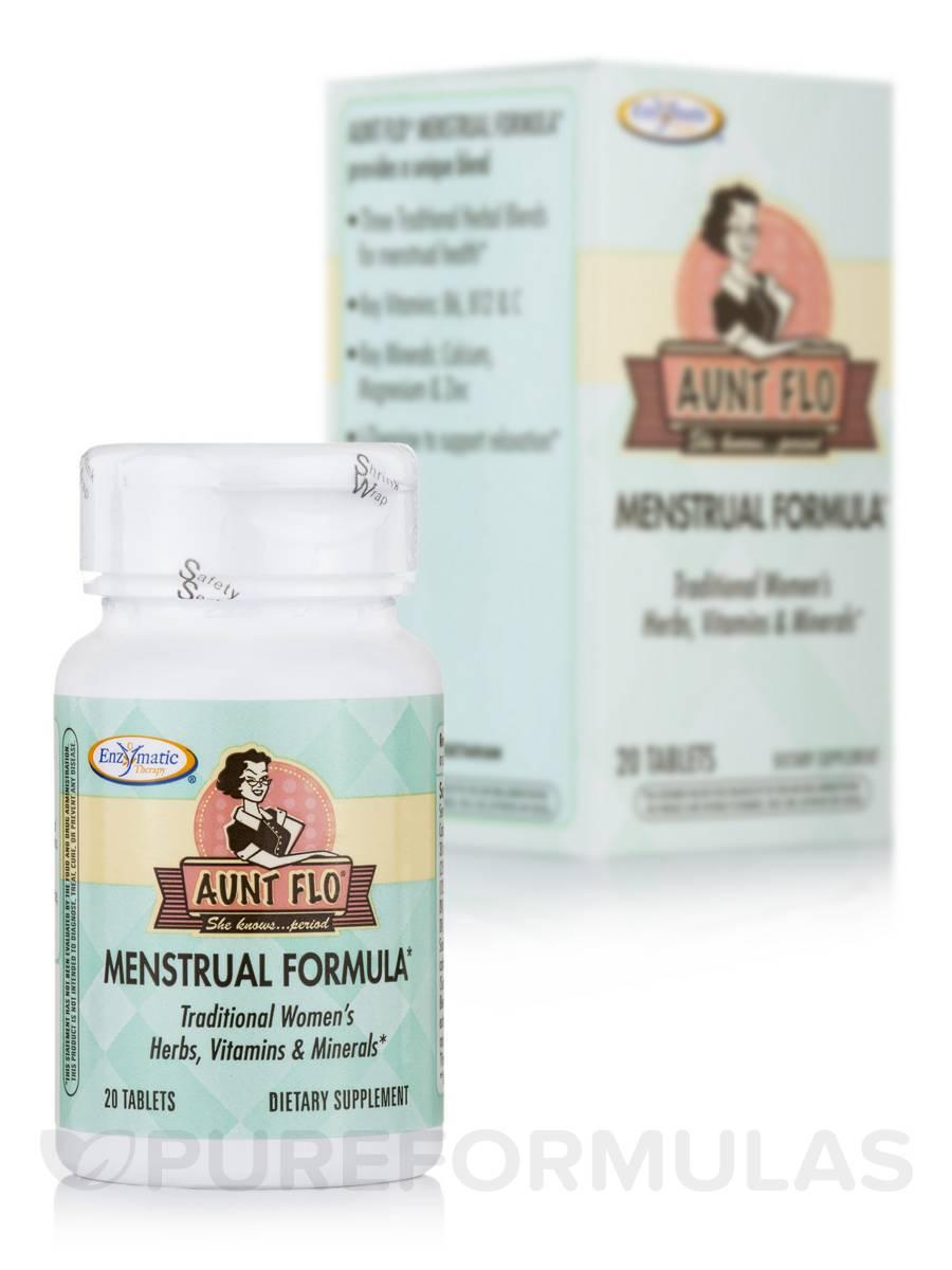 Aunt Flo® Menstrual Formula - 20 Tablets