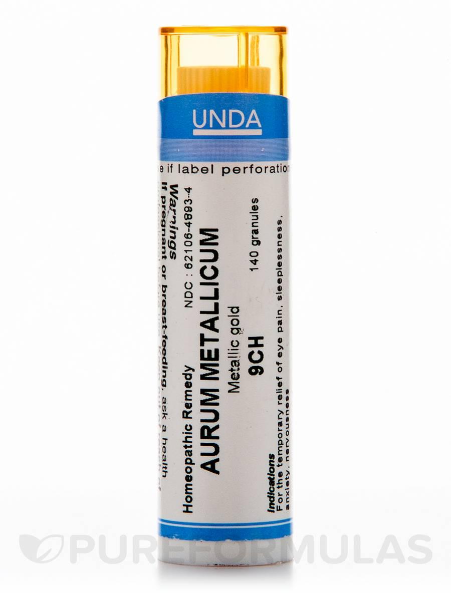 Aurum Metallicum 9CH - 140 Granules (5.5g)