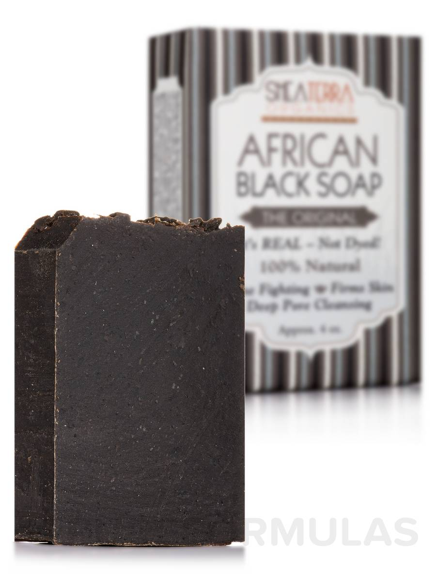 African Black Soap Bath Bar (The Original) - 4 oz