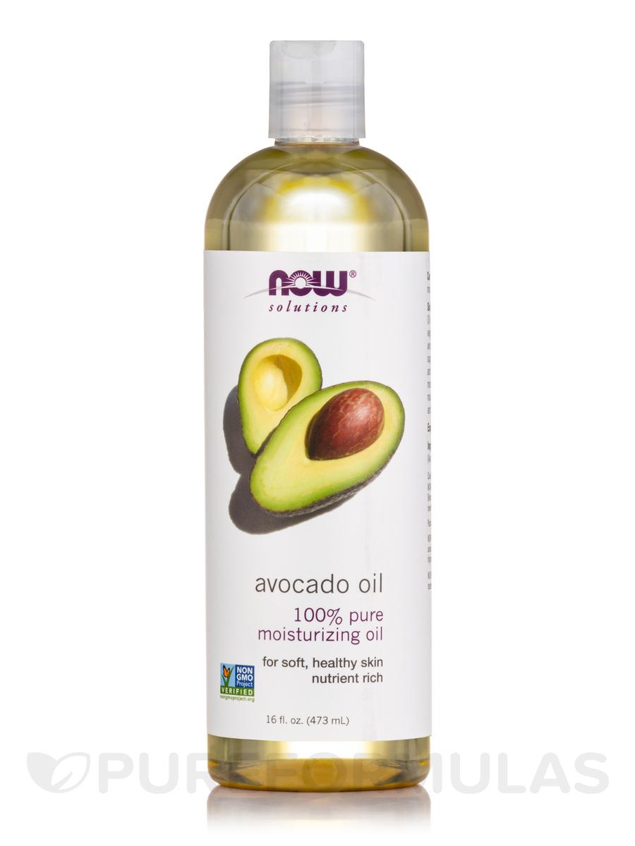 b12e52548f0a NOW® Solutions - Avocado Oil - 16 fl. oz (473 ml)