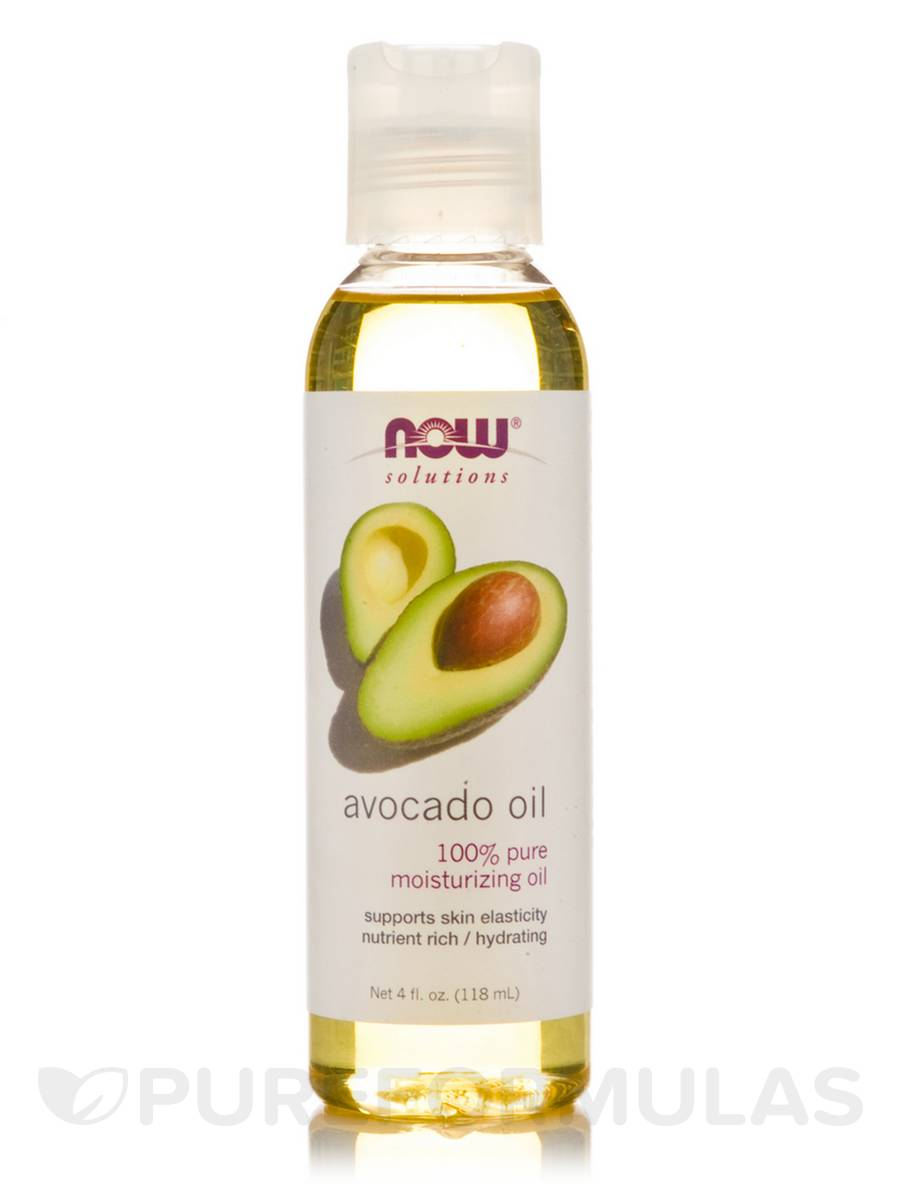 NOW® Solutions - Avocado Oil - 4 fl. oz (118 ml)