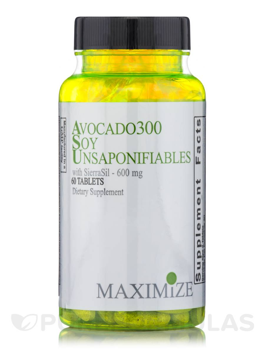 Avocado300 Soy Unsaponifiables with SierraSil - 60 Tablets