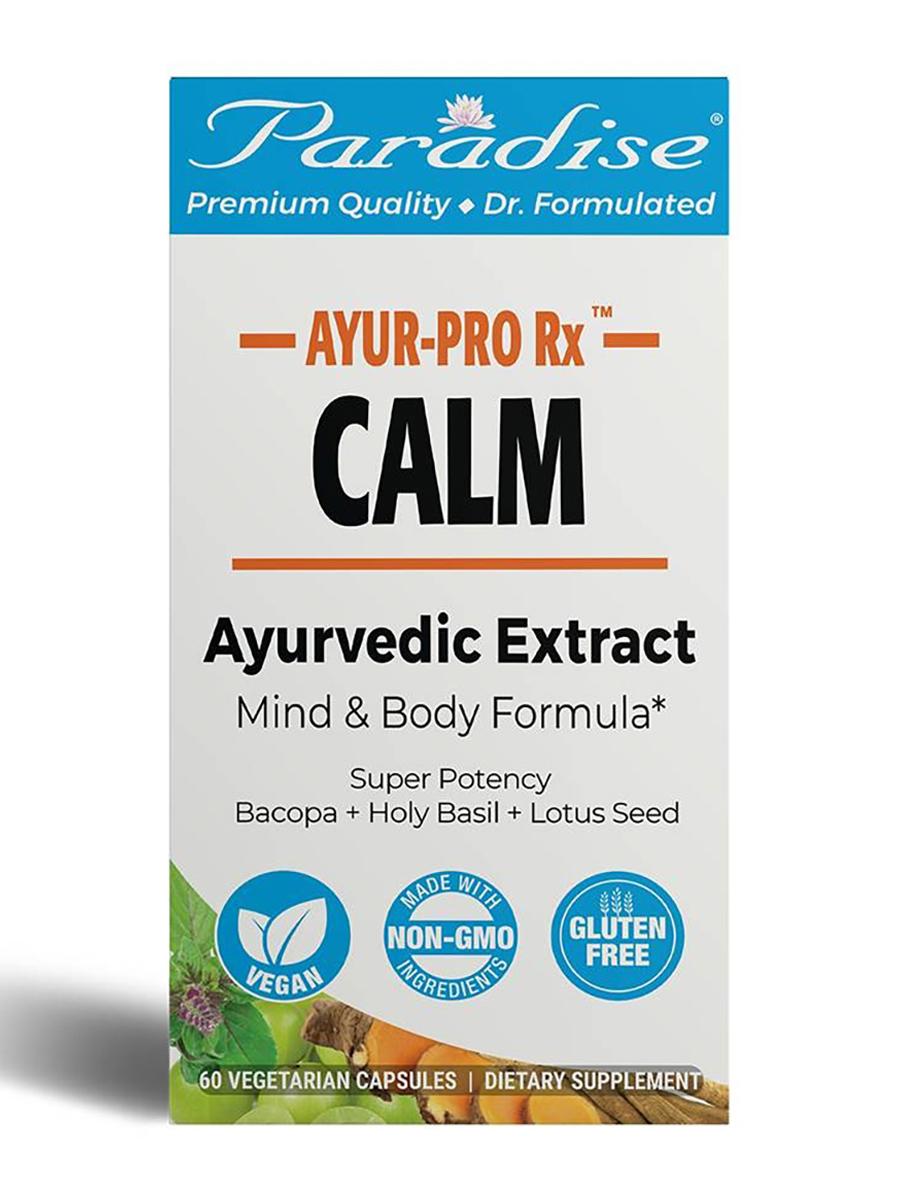 Ayur-Pro Rx™ Calm - 60 Vegetarian Capsules