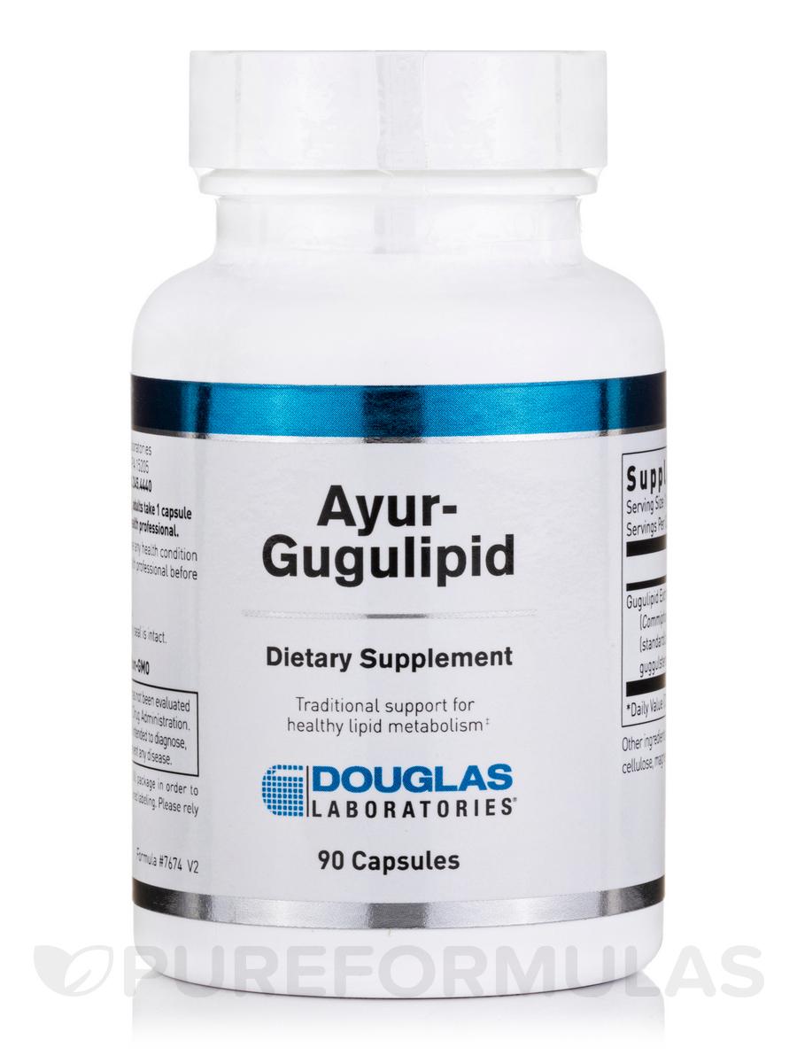 Ayur-Guggulipid - 90 Capsules