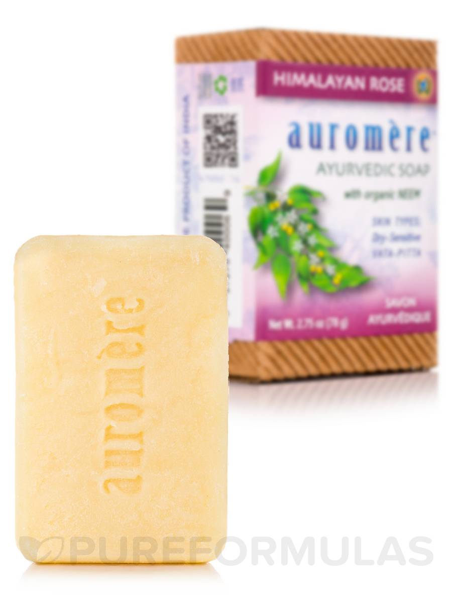 Ayurvedic Himalayan-Rose Soap - 2.75 oz (78 Grams)