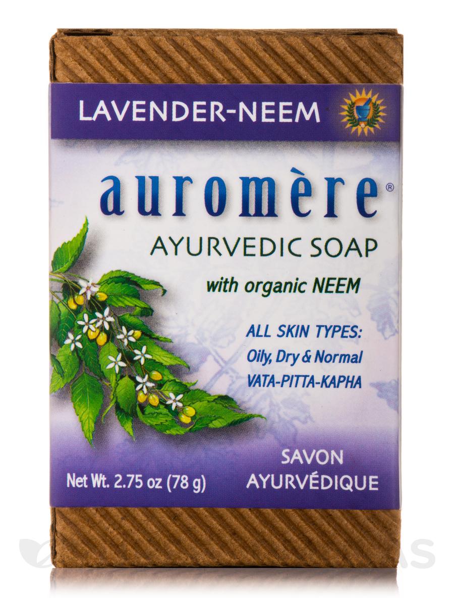 Ayurvedic Lavender-Neem Soap - 2.75 oz (78 Grams)