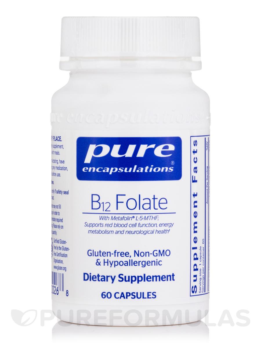 B12 Folate - 60 Capsules
