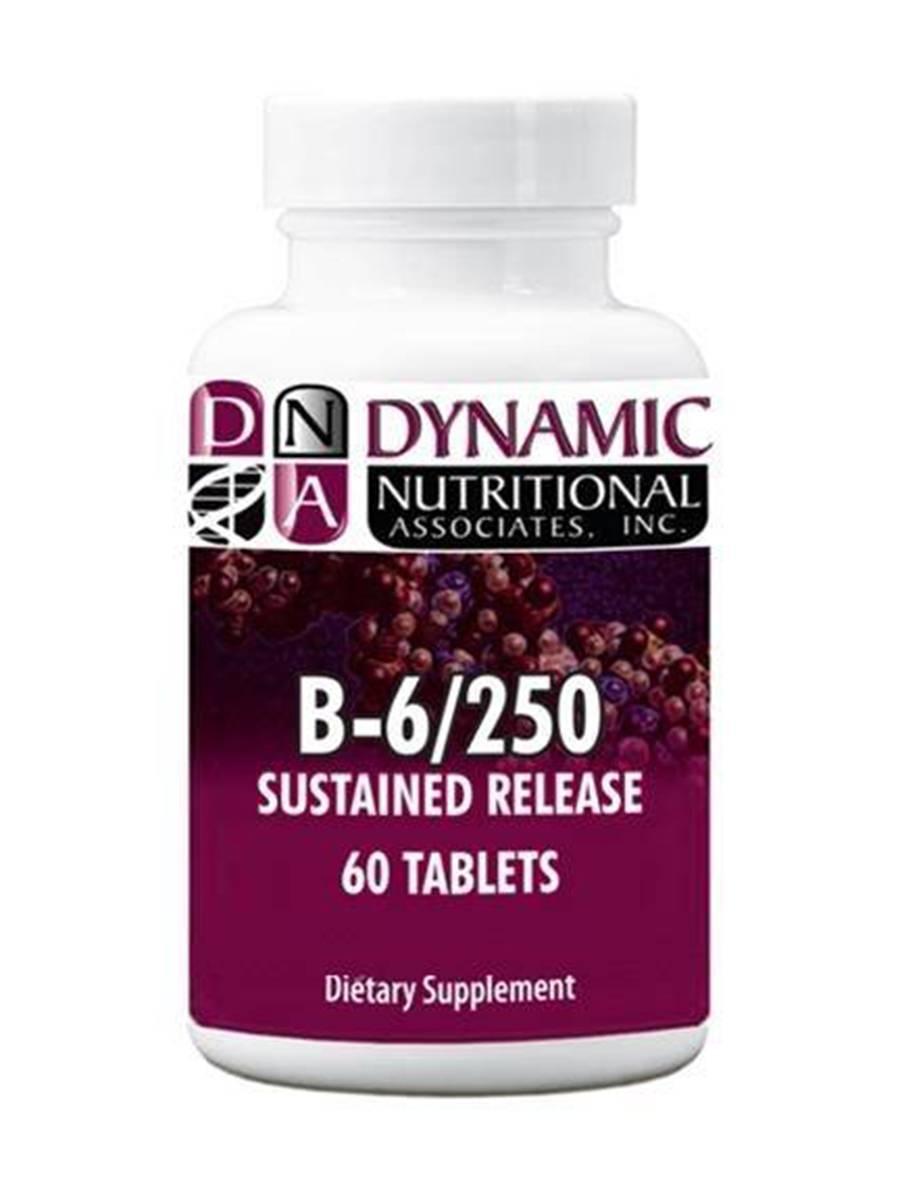 B-6 250 mg - 60 Tablets