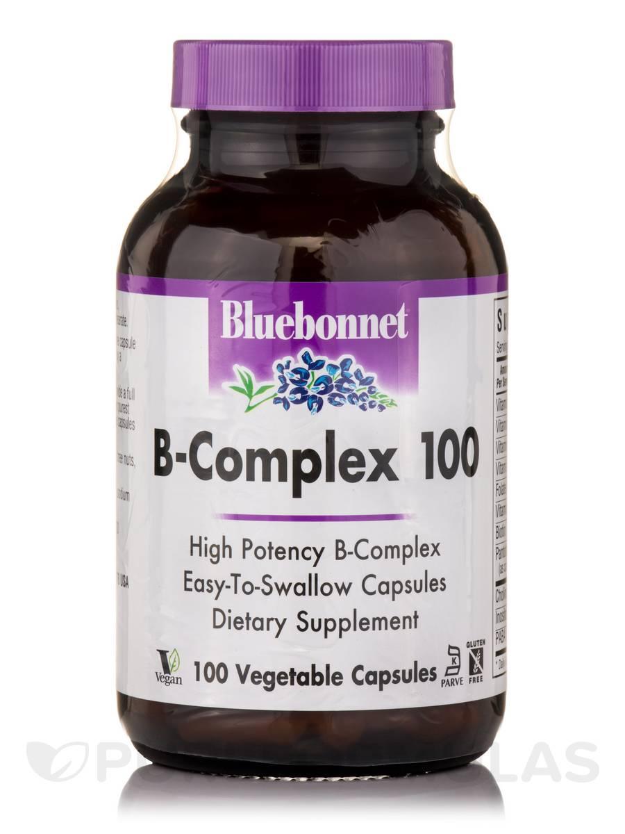 B-Complex 100 - 100 Vegetable Capsules