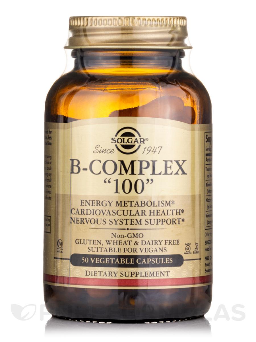 B-Complex 100 - 50 Vegetable Capsules