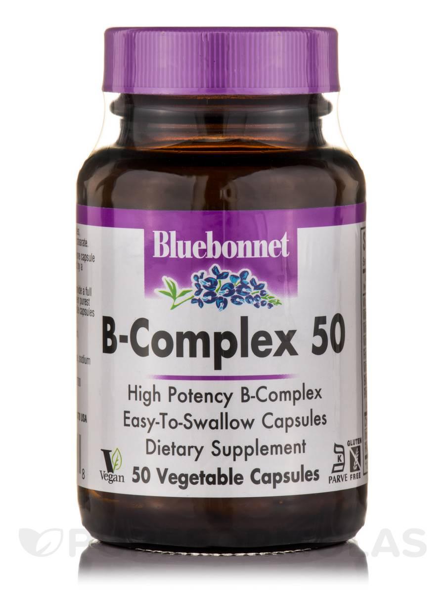 B-Complex 50 - 50 Vegetable Capsules