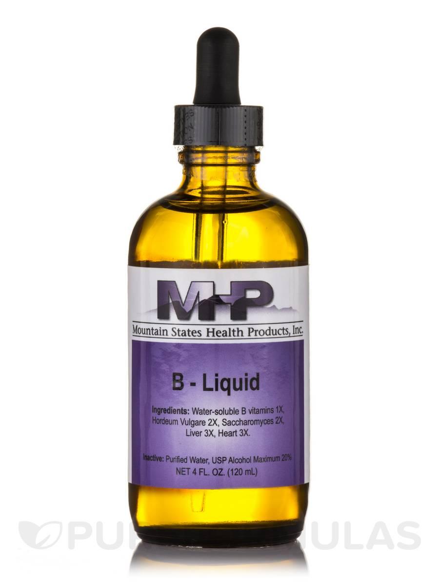 B Complex Liquid - 4 fl. oz (120 ml)